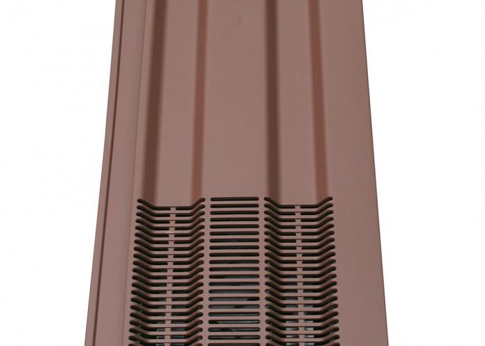 Klober 15 x 9 Vent Smooth Brown    KLO15VSB