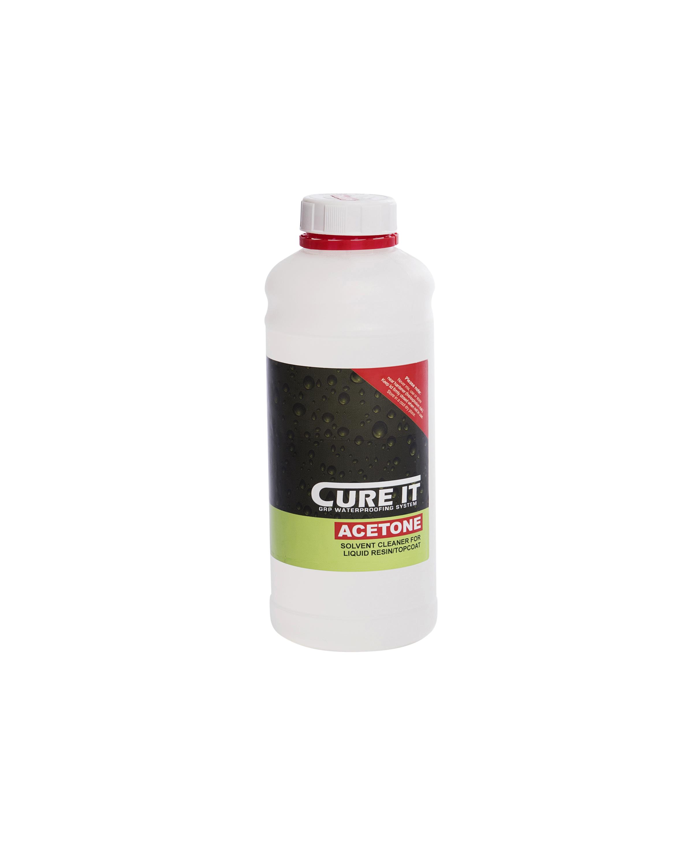 Cure It GRP Acetone 1Ltr   CITACETONE1L