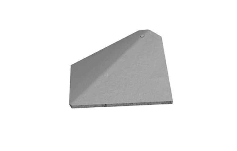 MARLEY TILES Concrete Plain Arris Hip