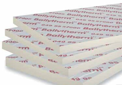 FOIL FACED INSULATION BOARD 2400x1200x100mm