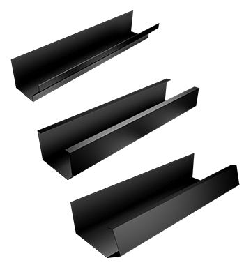 APR Guttering Legion Pressed Aluminium Box Gutter Bespoke Profiles
