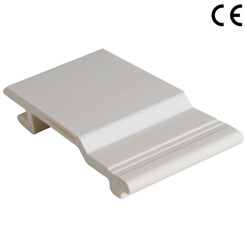 FLOPLAST V Joint Cladding - 100mm - Various Woodgrain Foil Colours/White