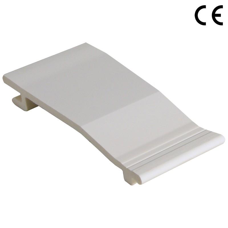 FLOPLAST Shiplap Cladding - 150mm - Various Woodgrain Foil Colours/White