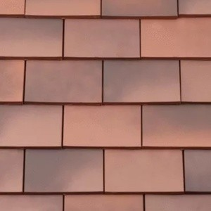 REDLAND ROOFING TILE Rosemary Clay Classic, 81 Light Mixed Brindle, Smooth Finish, Clay