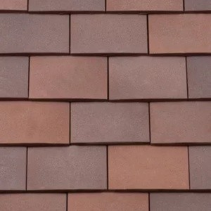 REDLAND ROOFING TILE Rosemary Clay Classic, 94 Russet Mix (Sanded), Sanded / Granular, Clay