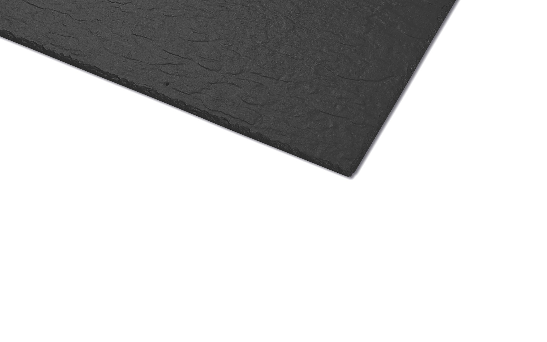 Fibre Slate Westerland Riven 600 x600mm - Graphite, Blue Black, Slate Welsh Blue