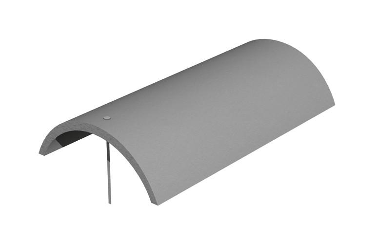 MARLEY TILES Concrete 457mm Segmental Security Ridge