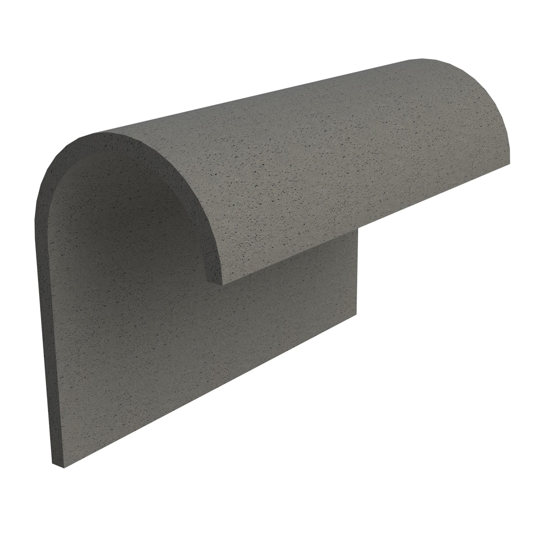 SANDTOFT TILES - Concrete Half Round Mono Ridge