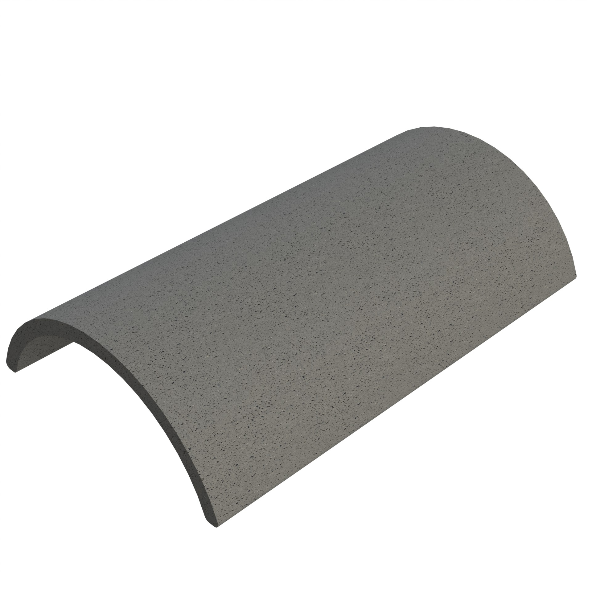 SANDTOFT TILES - Concrete Half Round Ridge