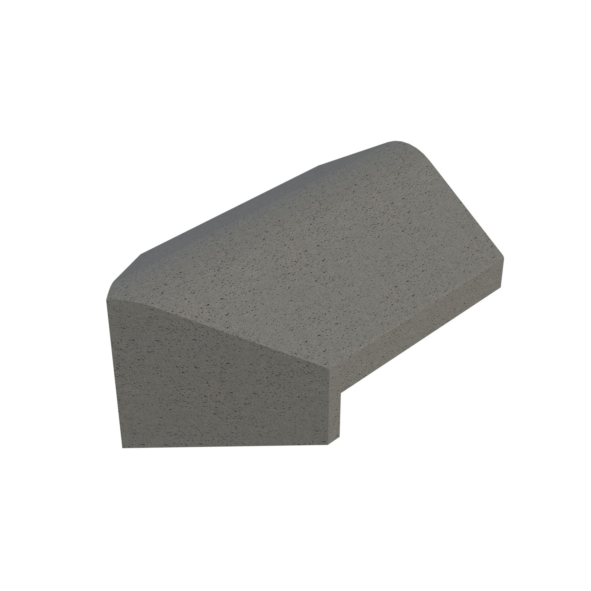SANDTOFT TILES - Concrete Legged Angle Hip Starter Ridge