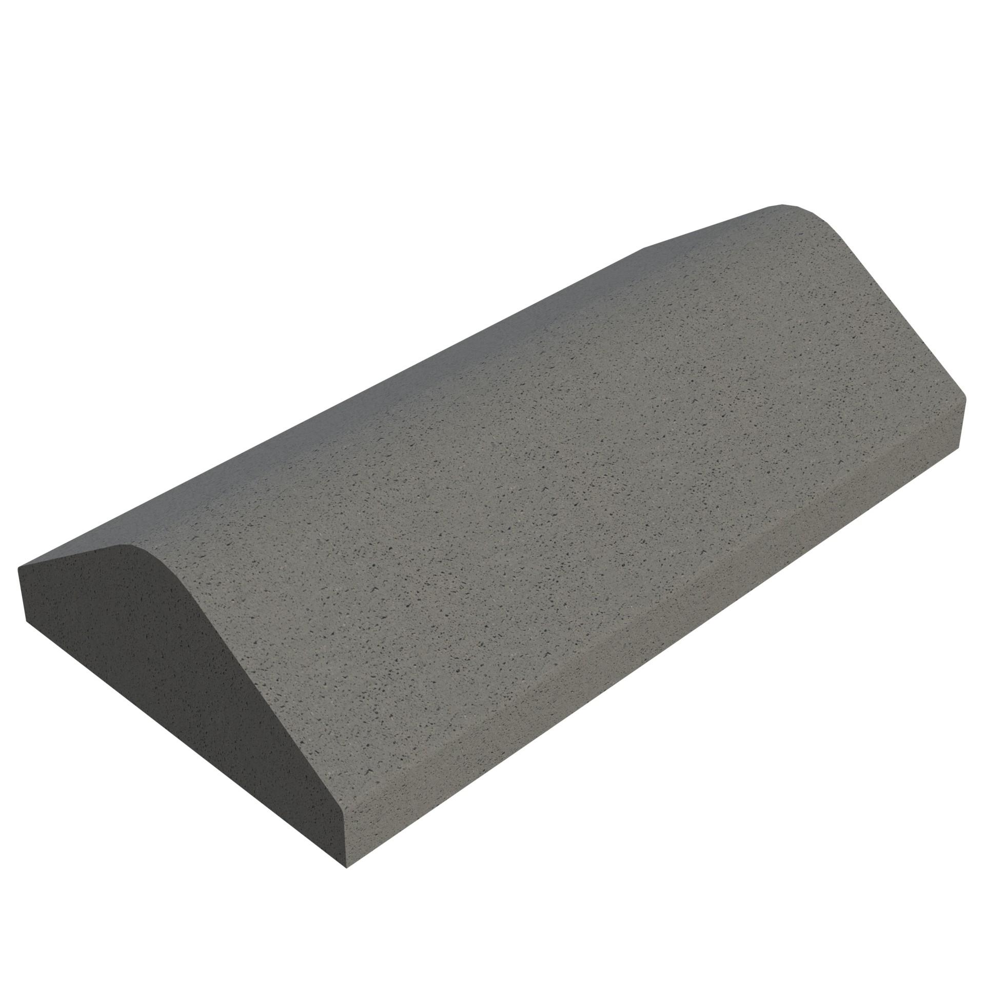 SANDTOFT TILES - Concrete Legged Angle Ridge With Gable Stop End