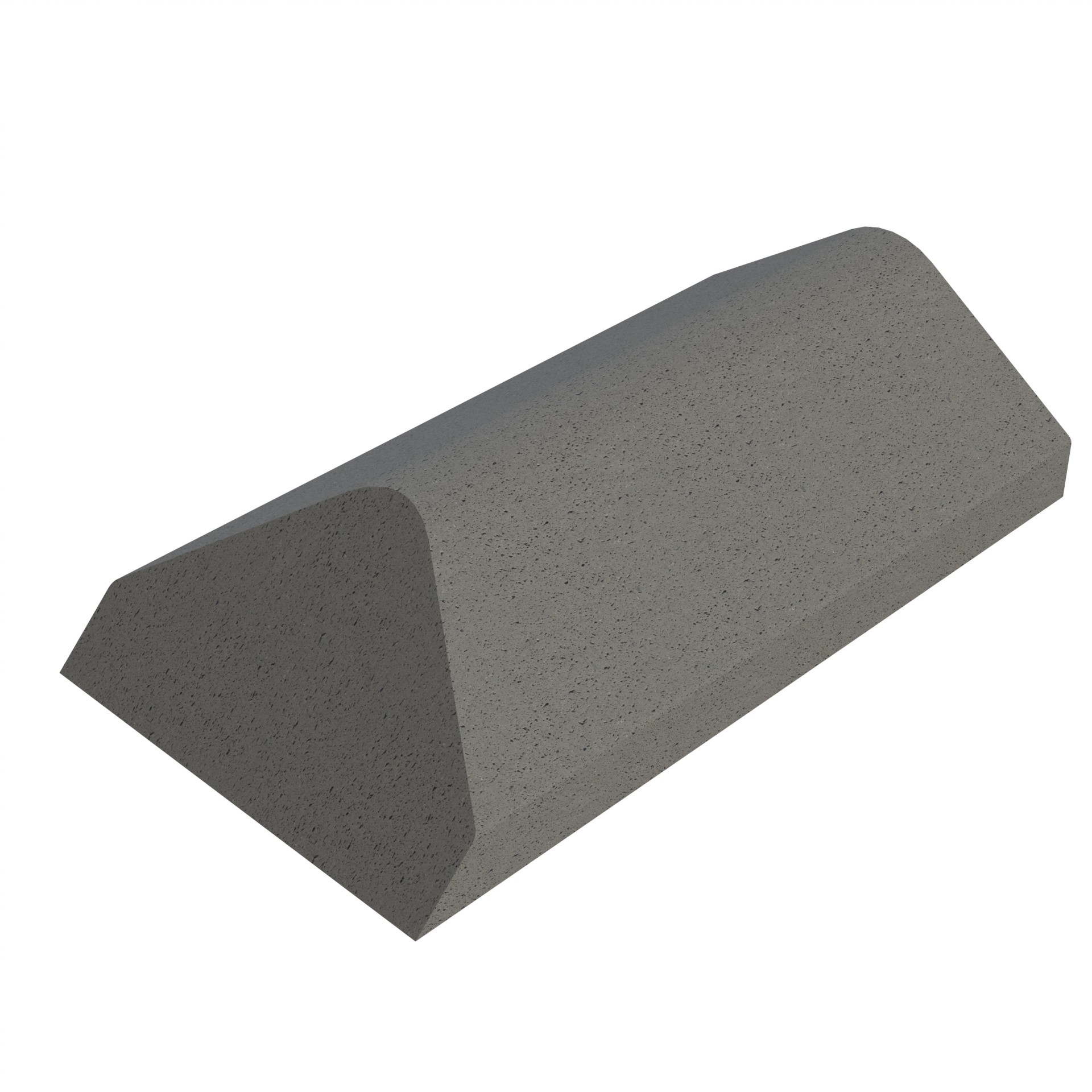 SANDTOFT TILES - Concrete Legged Angle Ridge With Hip End