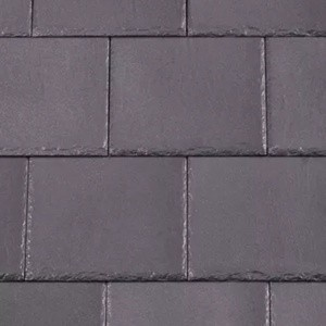 REDLAND Cambrian Slate, 28 Heather, Smooth Finish, Slate