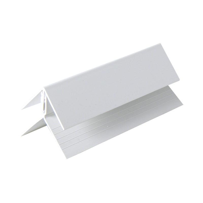 FLOPLAST Internal/External Corner (two part) - Various Woodgrain Foil Colours/White