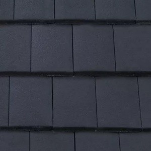 REDLAND ROOFING TILE DuoPlain, 64 Blue (Coated), Smooth Finish, Concrete