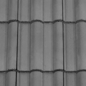 REDLAND ROOFING TILE 50 Double Roman, 30 Slate Grey, Smooth Finish, Concrete