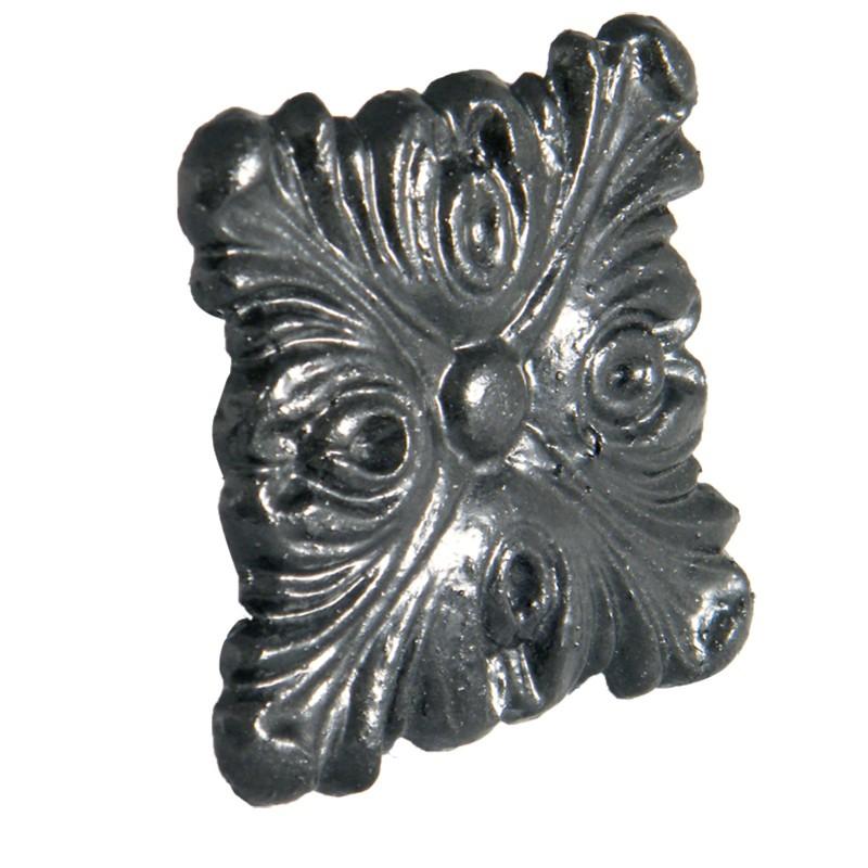 FLOPLAST Guttering Cast Iron Motifs - Decorative Square