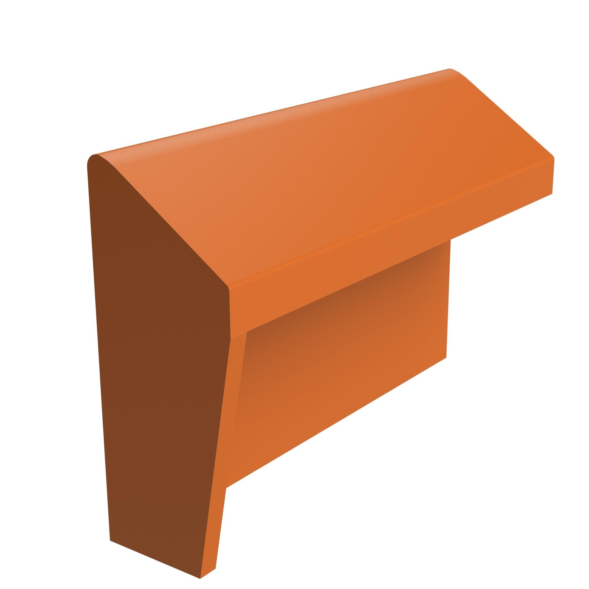 Sandtoft Tiles Duracoat Mono Ridge With Block End Lh