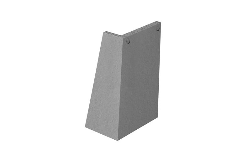 MARLEY TILES Concrete Plain External Angles