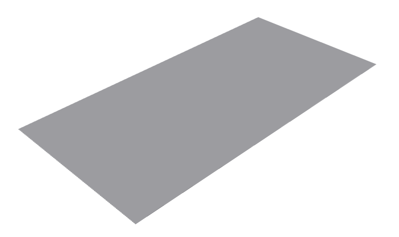 Cure It GRP F300 Flat Flashing -3Mtr