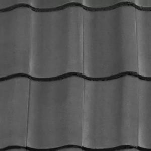 REDLAND ROOFING TILE Fenland Pantile, 30 Slate Grey, Smooth Finish, Concrete