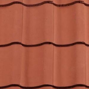 REDLAND ROOFING TILE Fenland Pantile, 34 Terracotta, Smooth Finish, Concrete