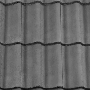 REDLAND ROOFING TILE Grovebury, 30 Slate Grey, Smooth Finish, Concrete