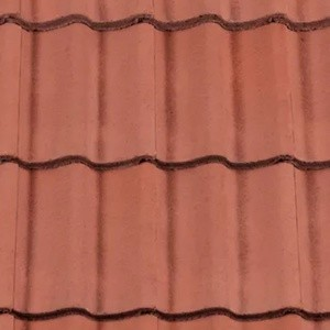 REDLAND ROOFING TILE Grovebury, 34 Terracotta, Smooth Finish, Concrete