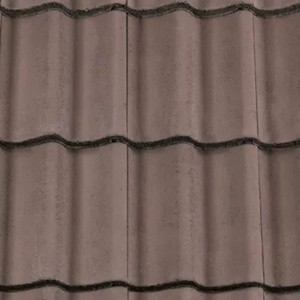 REDLAND ROOFING TILE Grovebury, 36 Tudor Brown, Smooth Finish, Concrete