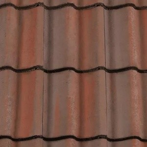 REDLAND ROOFING TILE Grovebury, 52 Breckland Brown, Smooth Finish, Concrete