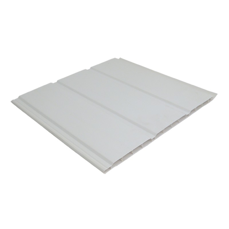 FLOPLAST Hollow Soffit - 300mm - Various Woodgrain Foil Colours/White