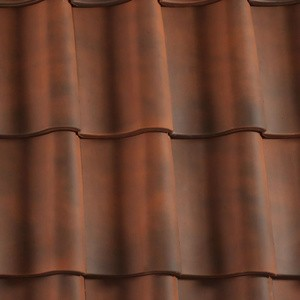 REDLAND ROOFING TILE Hollander Clay Pantile, 82 Brindle, Smooth Finish, Clay