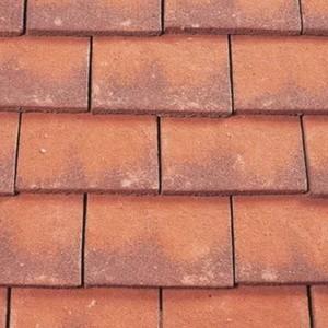 REDLAND ROOFING TILE Heathland Ornamental, 20 Manor House Mix (Granular), Sanded / Granular, Concrete