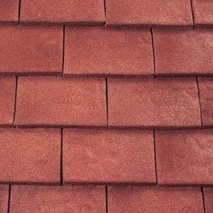 REDLAND ROOFING TILE Heathland Ornamental, 22 Wealden Red (Sanded), Sanded / Granular, Concrete