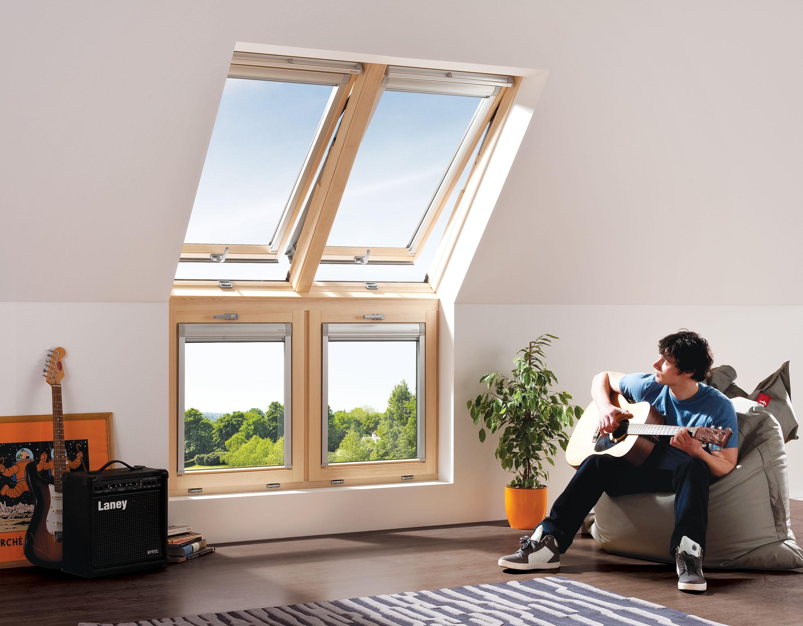KEYLITE - Vertical Bi-Lite Window System