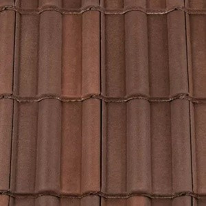 REDLAND ROOFING TILE Landmark Double Roman, 44 Brown Brindle (ColourFusion), Smooth Finish, Concrete