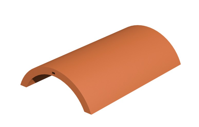 MARLEY TILES Lincoln Clay 375mm Third Round Hip