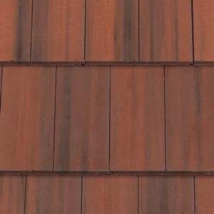REDLAND MockBond Richmond 10 Slate, 38 Flame Red (Coated), Smooth Finish, Concrete
