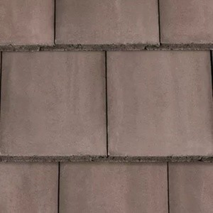 REDLAND Mini Stonewold, 36 Tudor Brown, Smooth Finish, Concrete