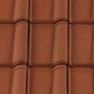 REDLAND ROOFING TILE Postel Clay 82 Brindle, Smooth Finish, Clay