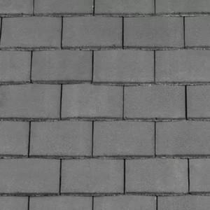 REDLAND Plain Roofing Tile, 30 Slate Grey, Smooth Finish, Concrete