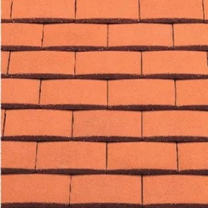 REDLAND Plain Tile Ornamental, 34 Terracotta, Smooth Finish, Concrete