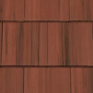 REDLAND Richmond 10 Slate, 38 Flame Red (Coated), Smooth Finish, Concrete