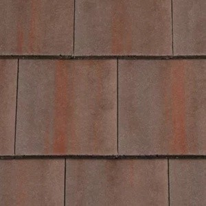 REDLAND Richmond 10 Slate, 40 Rustic Brown (Coated), Smooth Finish, Concrete