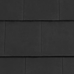 REDLAND Richmond 10 Slate, 63 Black (Coated), Smooth Finish, Concrete