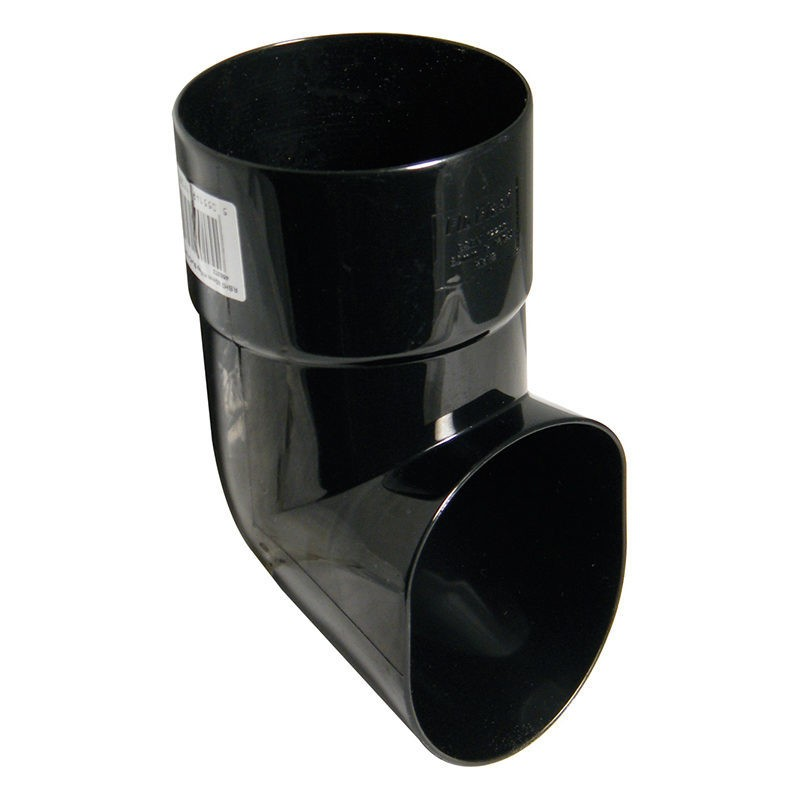 FLOPLAST Guttering 80mm Round - Shoes
