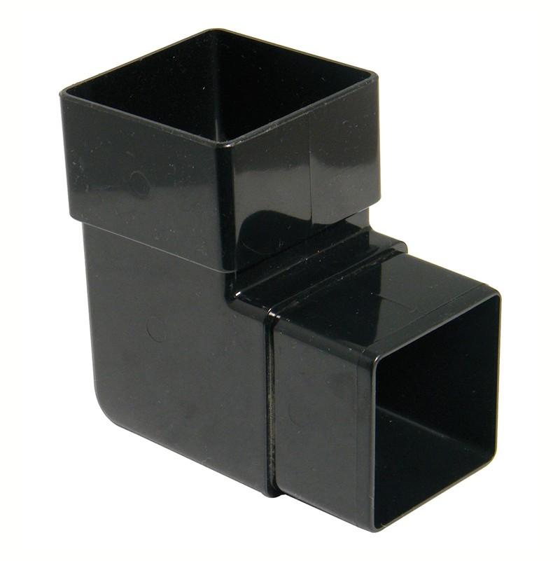 FLOPLAST Guttering 65mm Square - Offset Bends