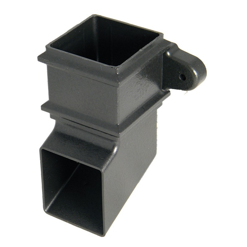 FLOPLAST Guttering 65mm Square Cast Iron Style - Shoes