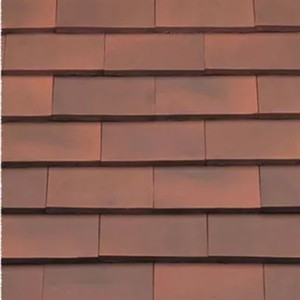 REDLAND ROOFING TILE Rosemary Classic Ornamental, 82 Medium Mixed Brindle, Smooth Finish, Clay