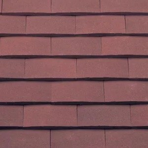 REDLAND ROOFING TILE Rosemary Classic Ornamental, 94 Russet Mix (Sanded), Sanded / Granular, Clay
